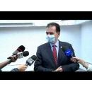 Declarații susținute de premierul Ludovic Orban, după vizita la Direcția de Sănătate Publică din București